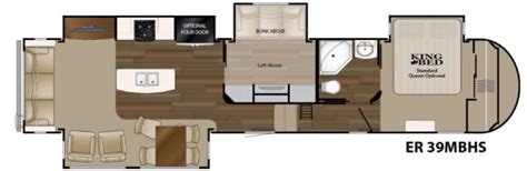 bunkhouse fifth wheel floor plans heartland elkridge fifth wheels multiple bunkhouse models