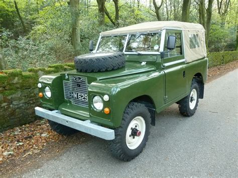 land rover 1970 ehm 629j 1970 land rover series 2a tax exempt