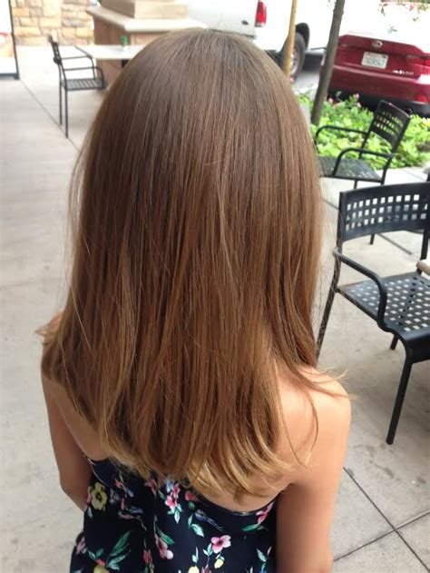 kids with ombre hair children s and teens haircuts and color in scottsdale