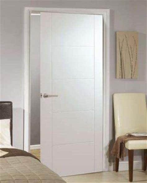 White Primed Florida 5 Panel Internal Door Interior White Door