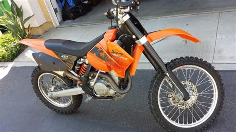 2006 Ktm 250xc 2006 Ktm 450 Xc F Dirt Bike For Sale On 2040motos