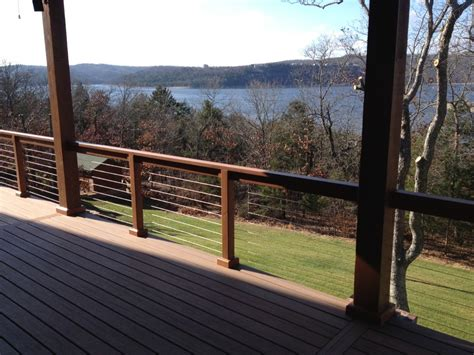 magnificent cable railing systems decorating ideas