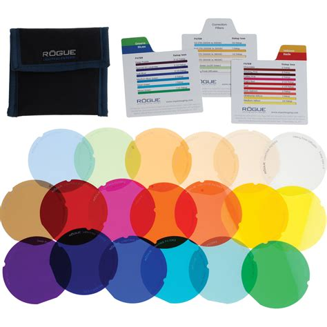 gel filters for lights expoimaging rogue gels lighting filter kit for rogue