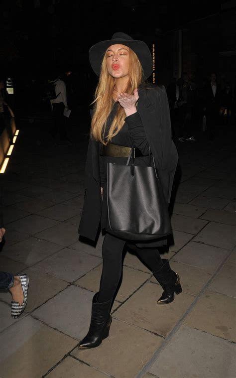 Lindsay Lohan Buys More Chanel by Lindsay Lohan Leaves Chanel Exhibition In 10