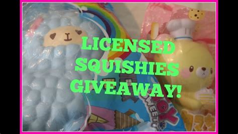 Free Squishies Giveaway - licensed silly squishies giveaway closed winner announced in description box youtube