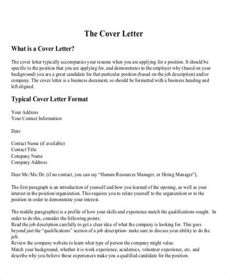 professional cover letter format exles 6 sle professional cover letter free sle exle