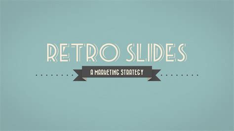 retro powerpoint template retro slides powerpoint template widescreen by