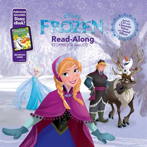 printable frozen storybook frozen read along storybook and cd disney books disney