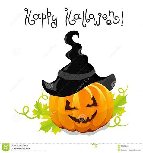 imagenes de halloween vector calabaza de halloween del vector con el sombrero foto de