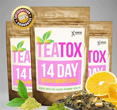 Detox Tea Reviews Uk by 14 Day Teatox Diet Detox Tea Burner Better