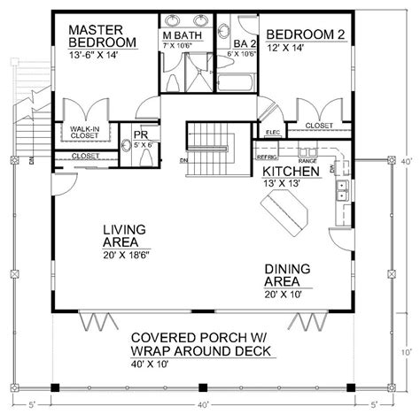Ranch House Floor Plans With Basement by Clearview 1600lr 1600 Sq Ft On Piers Beach House Plans