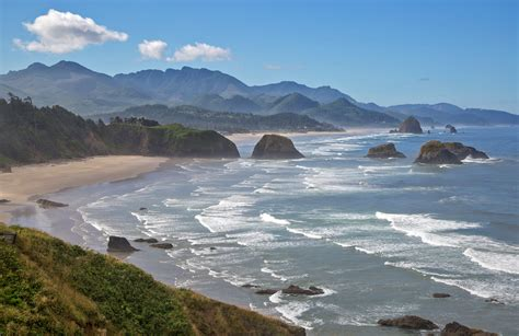 ecola state park beach in oregon thousand wonders