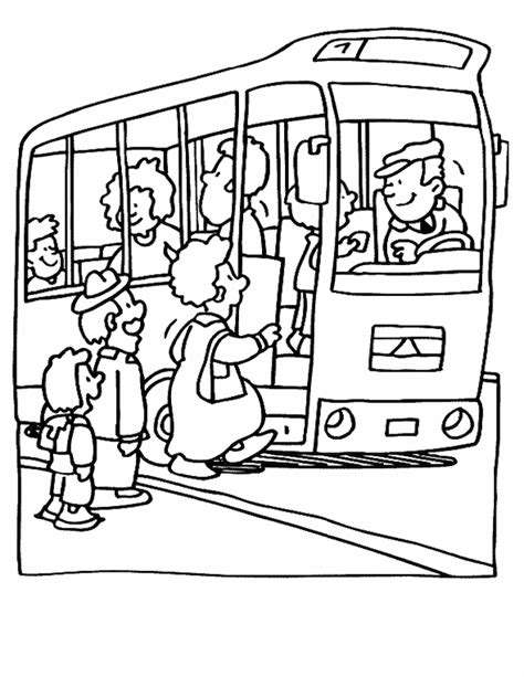 bus coloring page pdf bus coloring page coloring home