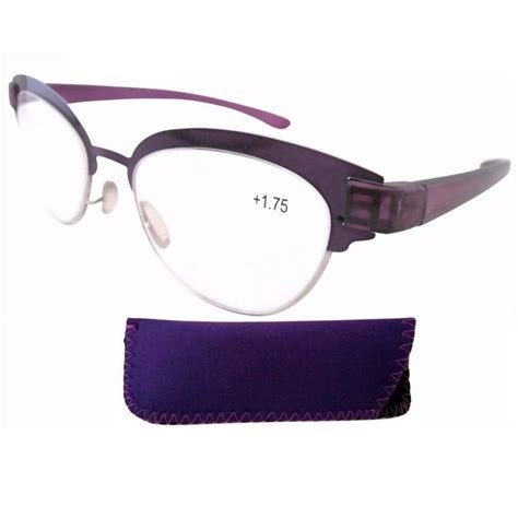 r11081 stainelss steel purple frame plastic arms