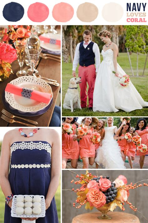 navy blue wedding color schemes summer wedding colors navy the magazine