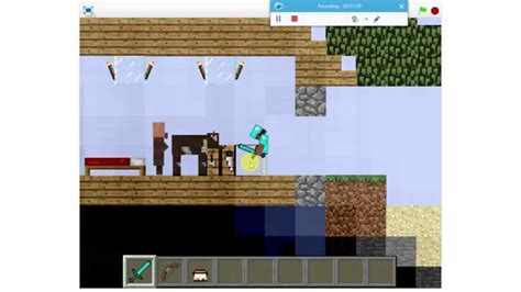 paper minecraft v11 3 minecraft 2d this is cool