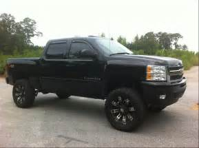 my truck big black truck chevy silverado i dont want no