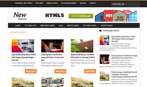 news mag template freebies 35 free responsive templates
