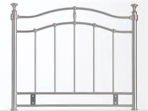 Silver Metal Headboards by 5 0 Quot King Size Supremo Silver Metal Headboard Cheap Beds