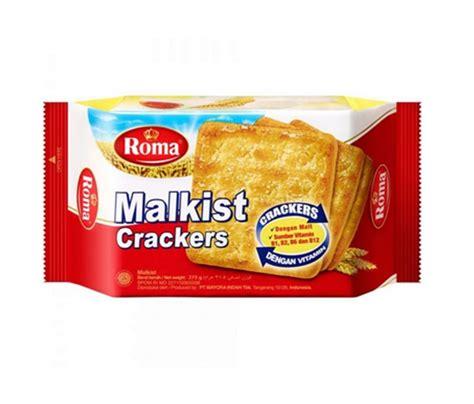 jual biskuit roma malkist crackers 1 pcs di lapak zavers