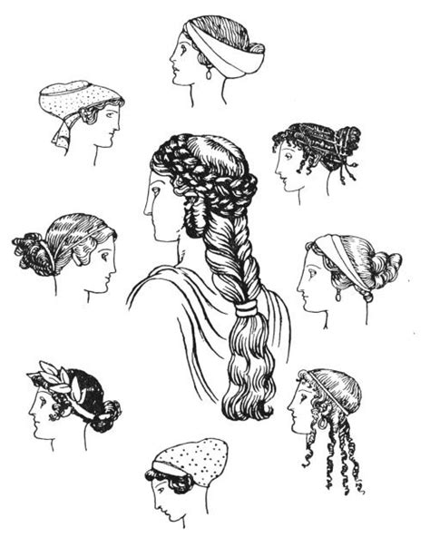 ancient hairstyles history ancient greek hairstyles google search griechische