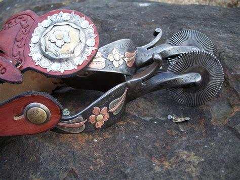 Custom Handmade Spurs - bianchi spurs custom spurs