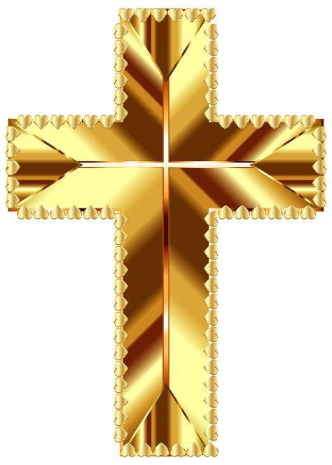 golden crosses  stars clipart clipground
