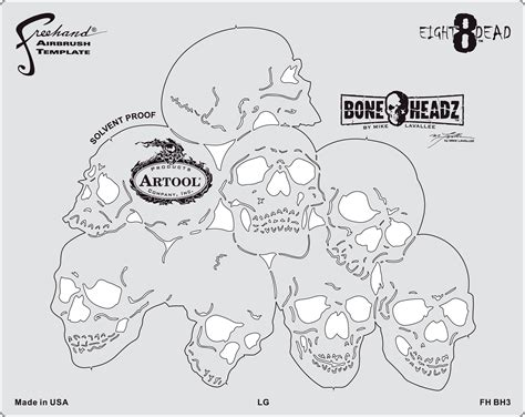 fh bh3 boneheadz eight8dead templates set 0f 4anest iwata