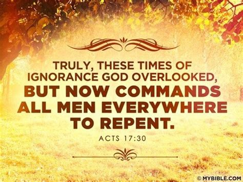 god s plan eliminate biblical ignorance books acts 17 30 my faith