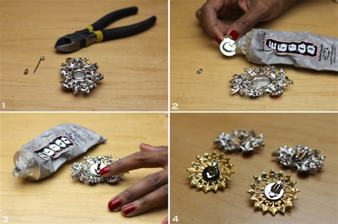diy shoe clip diy jeweled shoe frugal nomics