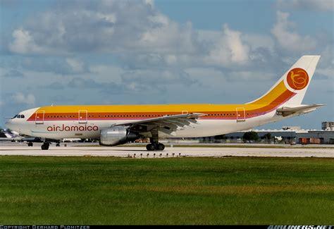 airbus a300b4 203 air jamaica air aviation photo 1795047 airliners net