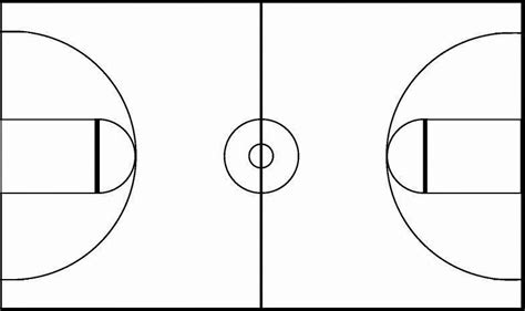 basketball court clipart black white basketball court clipart