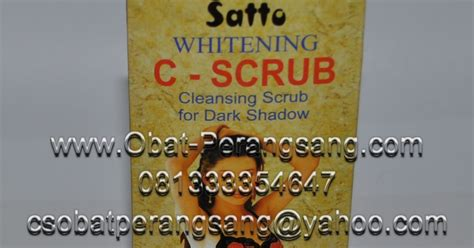 Whitening C Pemutih Ketiakselakangan nany kosmetik satto c scrub pemutih selangkangan krim pemutih kulit dan pemutih ketiak