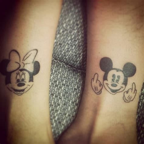 disney couple tattoos 20 matching ideas for to create a lasting