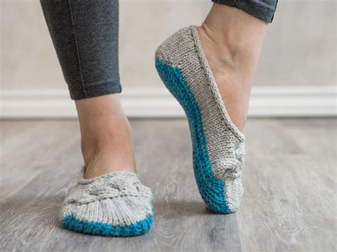 cloud slippers cloud nine ballet slippers knitting kit by rebekah