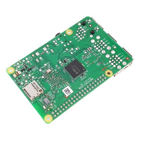 Raspberry Pi 3 Model B Original Made In Uk купить мини пк rs pi 3 b wifi bluetooth pi 3 pi 3 с бесплатной доставкой