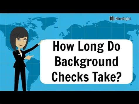 how background check take how do background checks take