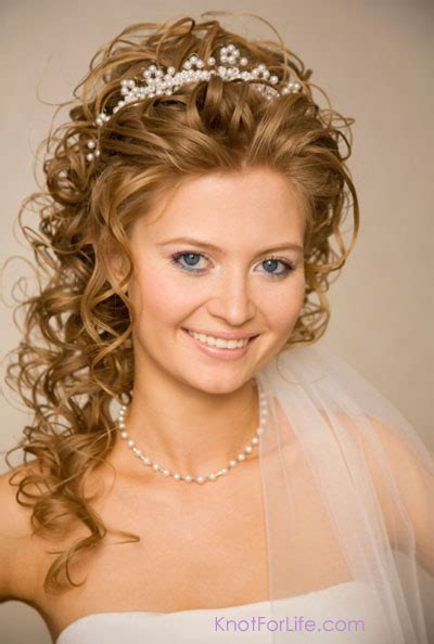 Braided Wedding Hairstyles With Tiara by Wedding Hairstyles With Veils And Tiaras Knot For