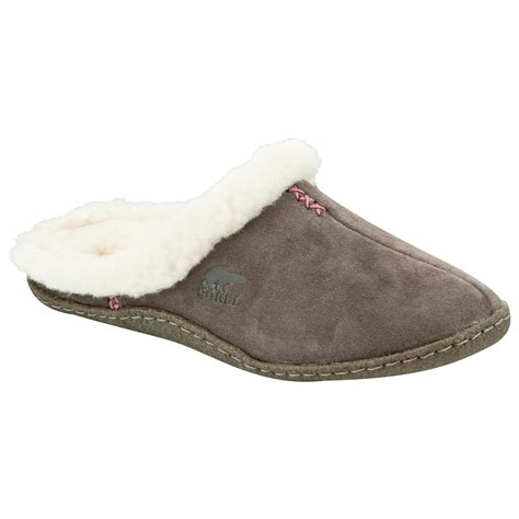 ladies house shoes sorel nakiska slide slippers women s evo