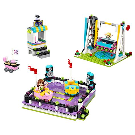Lego Friends Park images for the summer s new line of lego friends sets including the much anticipated amusement