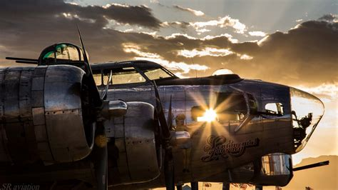 Wallpaper : park, vehicle, photography, clouds, airplane ... B 17 Flying Fortress Wallpaper