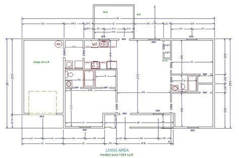 floor plan with measurements house design plans with measurements