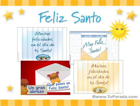 imagenes feliz dia tu santo postales de feliz santo d 237 a del santo tarjetas animadas