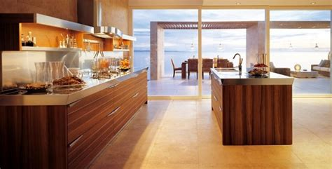 25 modern kitchens in wooden finish digsdigs 25 modern kitchens in wooden finish digsdigs
