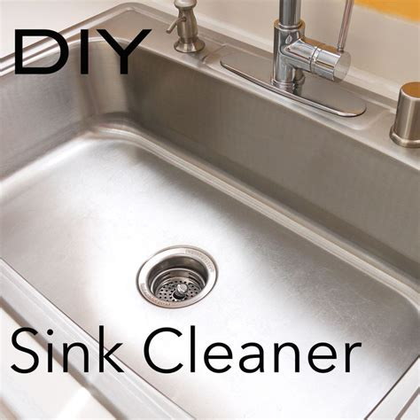 make it shine how to clean your stainless steel sink