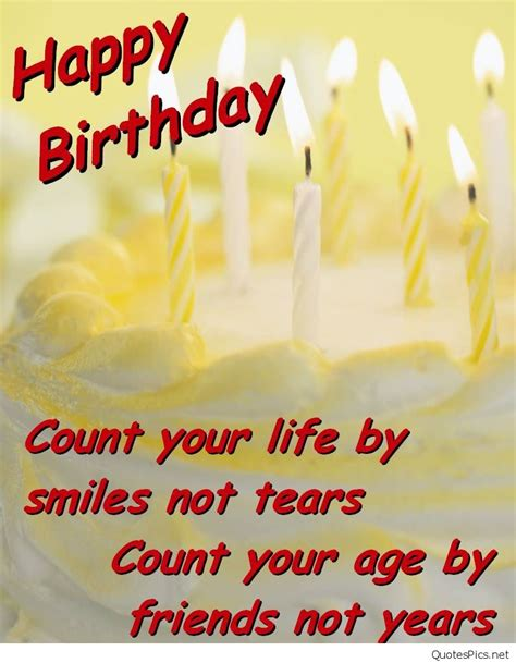 Birthday Quote For Happy Birthday Friends Wishes Cards Messages