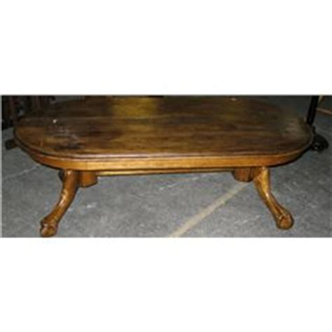 Claw Foot Coffee Table Vintage Wooden Coffee Table W Claw