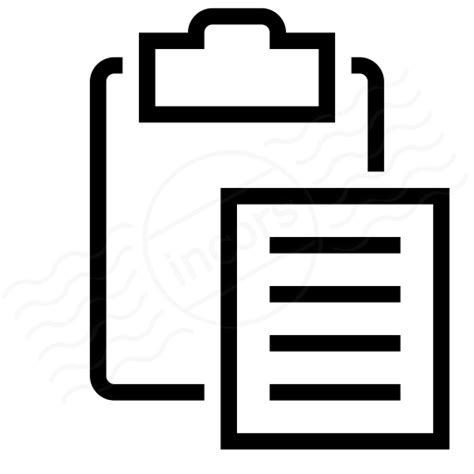 iconexperience  collection clipboard paste icon