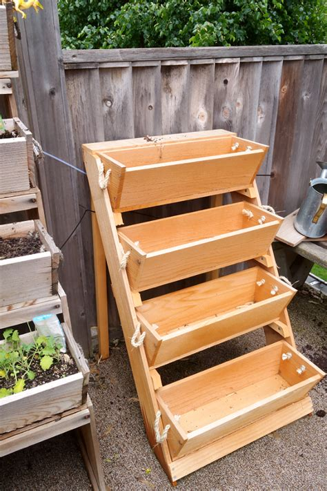 Tiered Strawberry Planter Plans by Garden Box Tiered Www Pixshark Images Galleries With A Bite