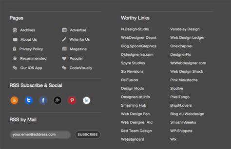 Design Websites index of 051 functional footer design 8 improvements for